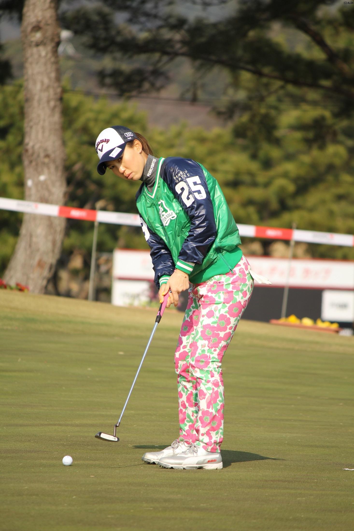 上田桃子 苦手コースも「結果を出せなければ高い目標はクリアできない」