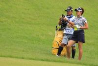 強風による中止に成田美寿々「これもゴルフ」、佐伯三貴「しょうがない」