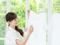 簡単に落ちる! 洗濯の生乾き臭の撃退法