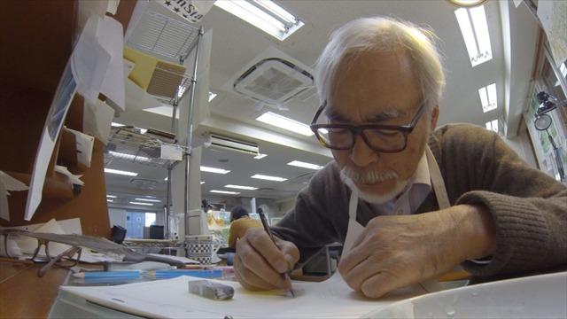 NHKスペシャルで宮崎駿特集 CGアニメ制作の舞台裏を追う