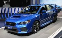 スバル、マイナーチェンジした米国仕様「WRX」と「WRX STI」の価格や装備を発表