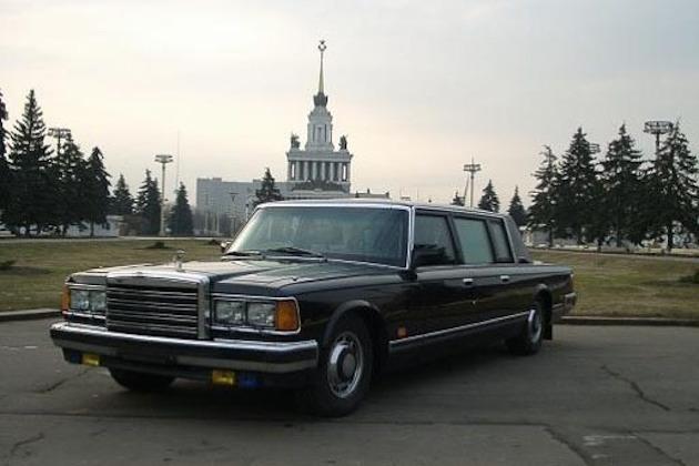 ゴルバチョフやエリツィンが乗っていたというロシア製のリムジンが、約2億円で販売中!