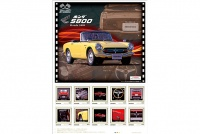 大人気「名車コレクションフレーム切手セット」の第5弾はホンダ「S800」!! 限定6000セットで発売開始!!