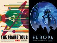 NASAが未来の宇宙旅行をテーマにした超クールなポスター集を無料公開