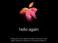 MacBook Pro大幅刷新か、Appleが10月27日に新製品発表会を実施へ