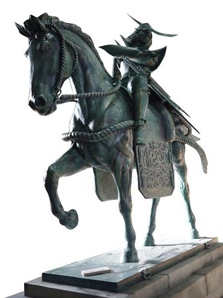 『戦国BASARA』と「埼玉県立歴史と民俗の博物館」のコラボ展、政宗像も設置