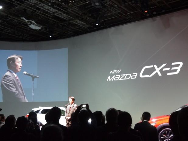 マツダCX-3が1か月弱で受注1万台超と好調なスタート