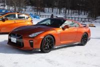 570ps/637Nmの日産GT-Rを氷上で走らせるとどうなる?【日産 氷上・雪上試乗会】