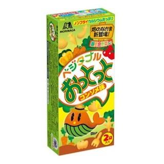 野菜の甘みを生かした「ベジタブルおっとっと<コンソメ味>」が発売