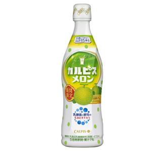 完熟メロン果汁を加えた「カルピス メロン」、今年も期間限定で登場