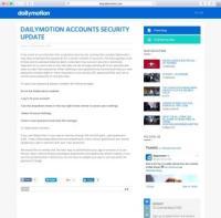 ビデオ共有サービス「DailyMotion」、8700万のユーザー情報流出