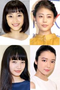 広瀬すず、高畑充希、小松菜奈…2016年大活躍した若手女優たち