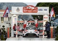 チーム・トヨタ、世界ラリー選手権、復帰第1戦で2位に入賞