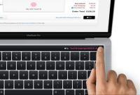 新MacBook Proが公式リーク、タッチ画面ツールバーとTouch ID指紋センサを搭載