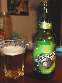 北朝鮮の地ビール「大同江ビール...