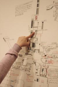 美大生が1人で作った新宿の巨大地下地図「新宿地下考現学」