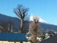 新幹線で撮った「残念な富士山」を集める原田専門家と残念な写真鑑賞