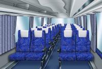バスの座席シートに青色のデザインが多い理由