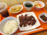 【衝撃】たまプラーザの吉野家は「ビーフステーキセット」が食べられる