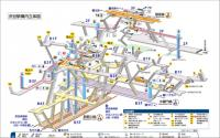 渋谷駅でベビーカーのまま乗り換えは難しい? 上下移動が過酷なダンジョンっぷりが話題