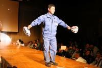電気工事士だらけのファッションショーを見てきた