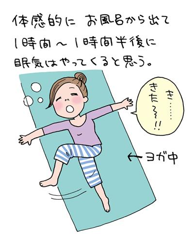 適切な睡眠で美肌をキープ! 知っておきたい春の眠気対策【イラストコラム】
