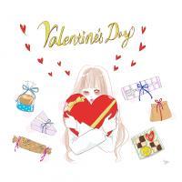 手作りバレンタイン派の女子必見!  誰でもできる簡単かわいいラッピング方法【イラスト】