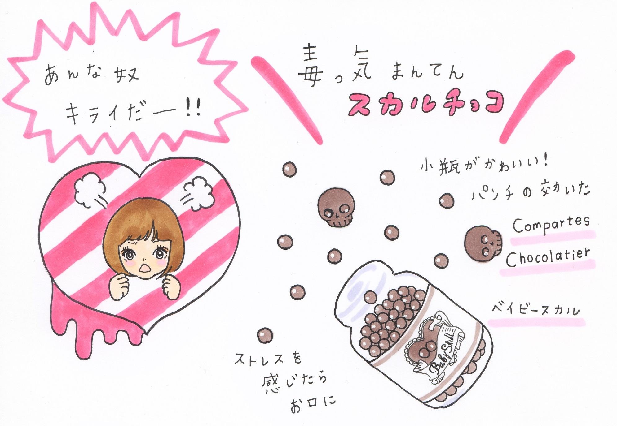 妄想恋愛日記@タイプ別 失恋中の女友達にあげたい友チョコ4選