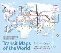 Mark Ovenden『Transit Maps of the World』。世界中の路線図を収集した一冊。表紙はロンドン地下鉄をモチーフに、世界中の国をつなげた路線図になっている。