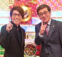 石坂浩二とロンブー淳がキャラをブチ壊す「クイズ!ボンバーワン有名人常識SP」