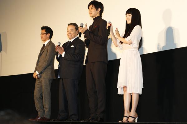 画像あり] 松坂桃李の高身長が話題に!! ライバル役の共演者を圧倒 ...