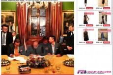 ベルルスコーニと中国人富豪がミラン売却で合意した瞬間の写真が流出?