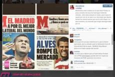 バルサのアウベス、PSGと新契約? 本人は激怒「デタラメを言うバカども」