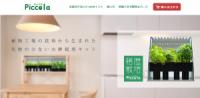 株式会社 エスキュービズム・エレクトリック 家庭用水耕栽培キット「ピッコラ」を発売