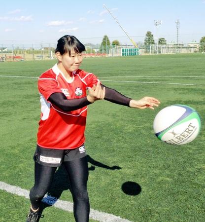 ラグビー女子代表候補に福井出身者 リオ五輪目指す三村亜生