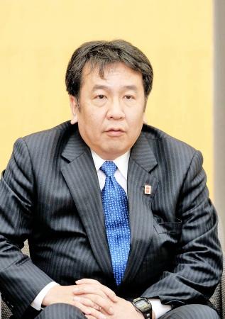 民主党枝野氏「福井は潜在力ある」 統一地方選へ地方重視の政策訴え