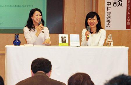 谷崎由依さんと中村理聖さん対談 福井市出身の若手女性作家