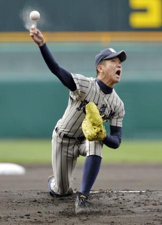 敦賀気比が奈良大付に完封勝ち 選抜高校野球、平沼は被安打1