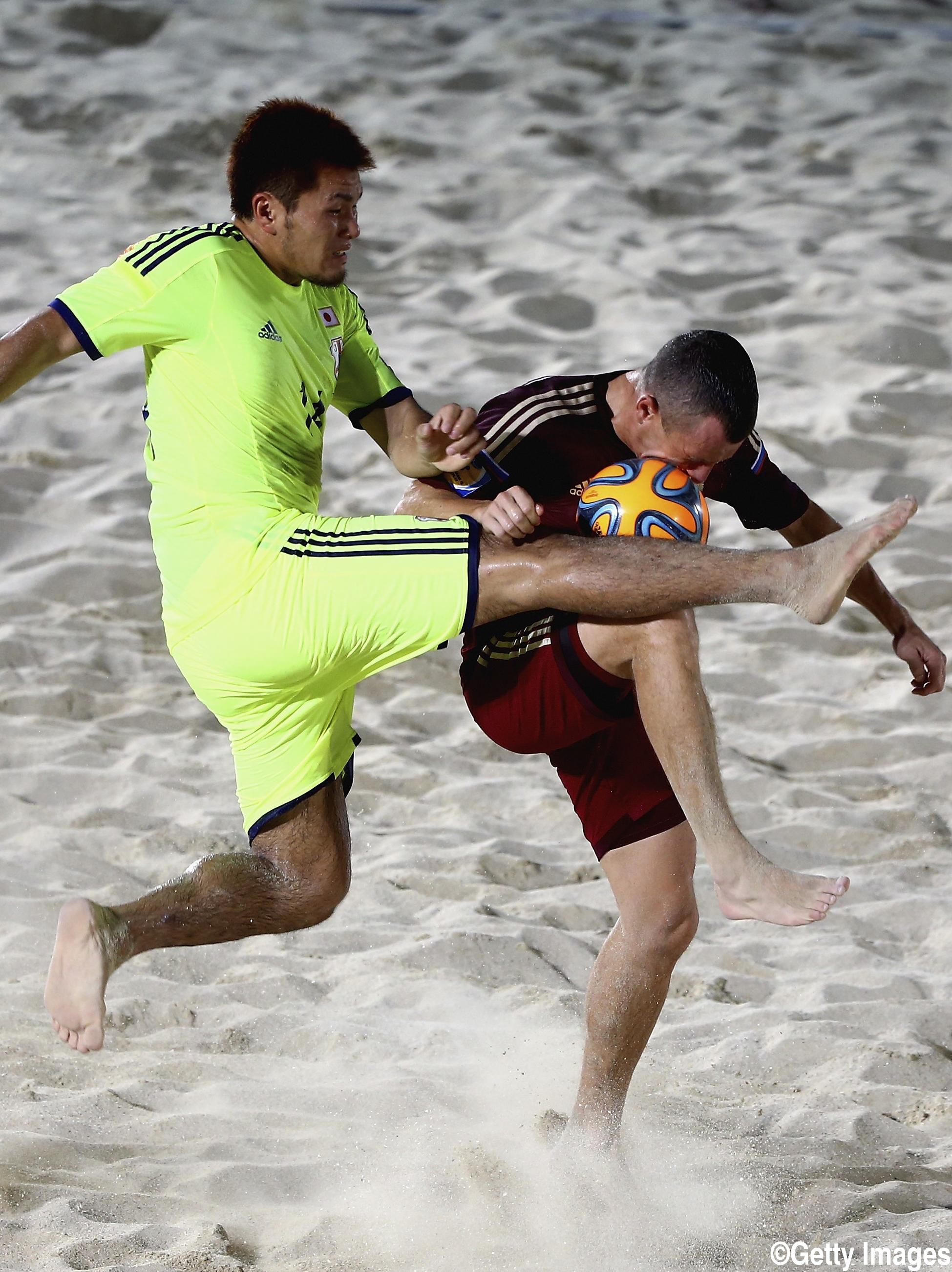 ビーチサッカー日本代表は中国撃破で準決勝へ