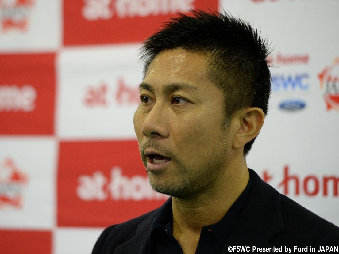 元日本代表の前園氏が『F5WC』出場へ意欲「一番最初に誘うならヒデだけど…」