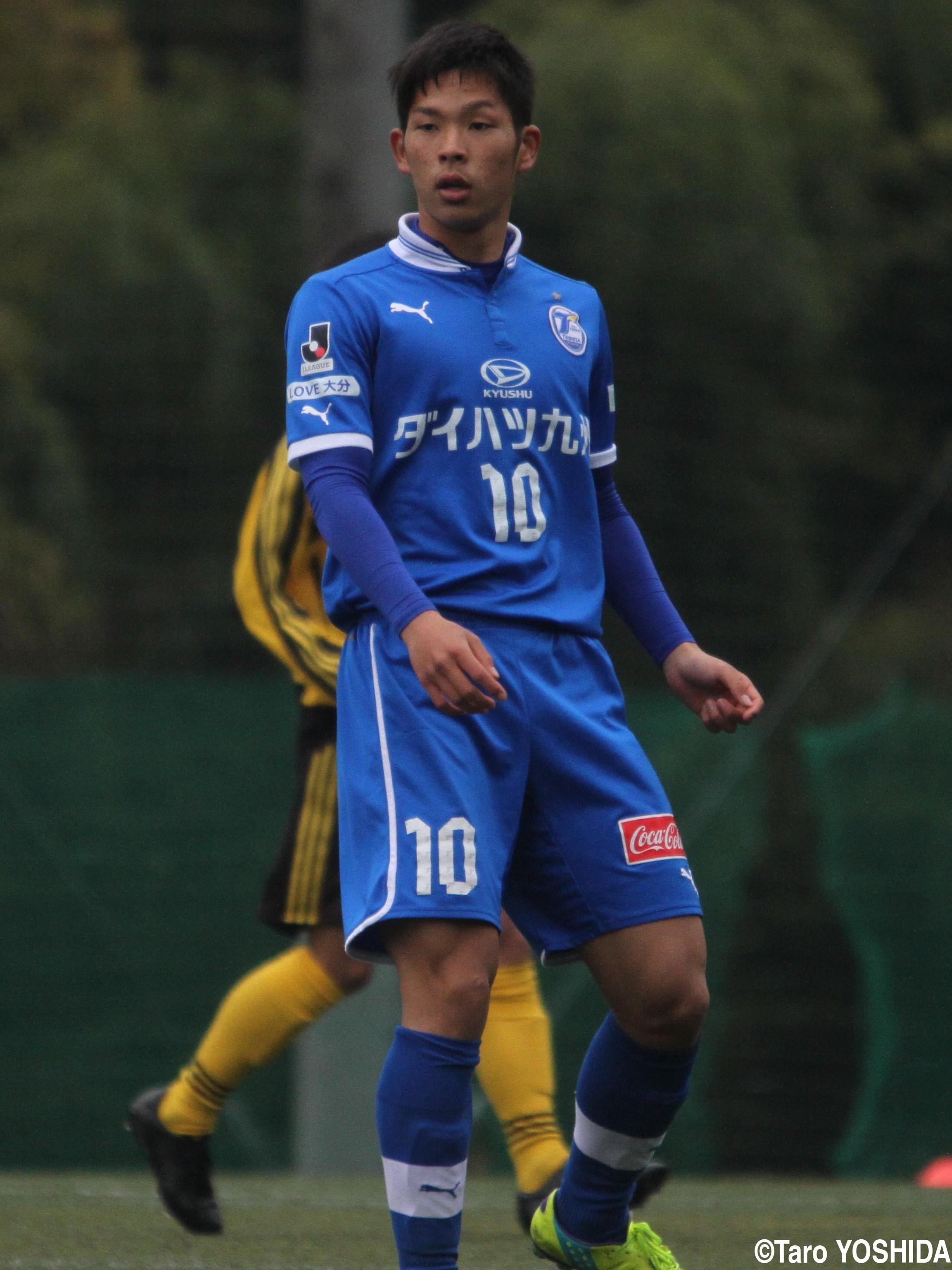 大分U-18からの飛躍期待される新たな才能、U-18日本代表MF岩田智輝(4枚)