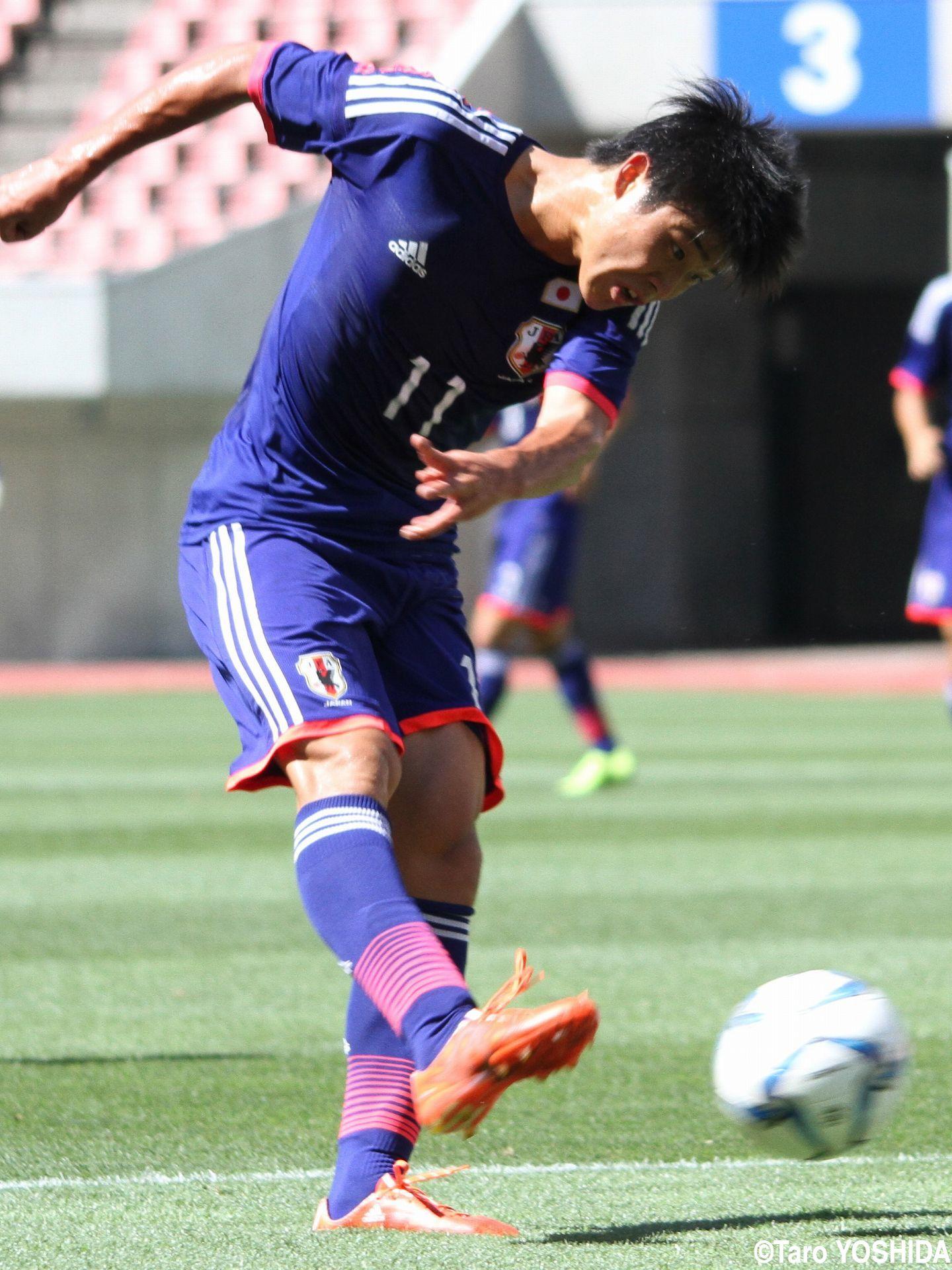 [国際ユースサッカーin新潟]U-17代表で存在感示し続けた注目FW岩崎、この夏は「よりレベルアップして、よりタフに」