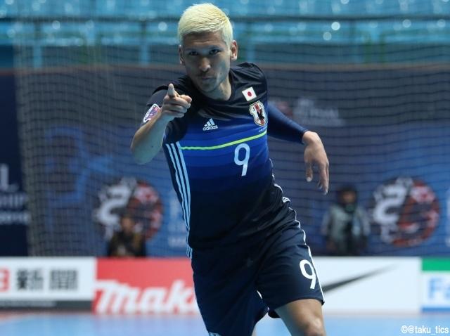 [AFCフットサル選手権]フットサル日本代表が3連勝! D組首位で決勝ラウンドへ