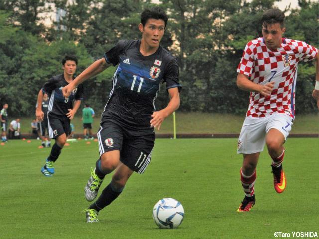 [国際ユースサッカーin新潟]レフティーストライカーFW田川は2戦連発ならず「悔しかった」