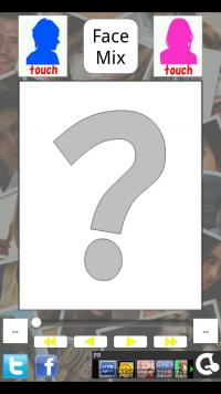 Android アプリ 「FaceMix~合成写真~Lite」 二人の顔を合成すると、どんな顔?