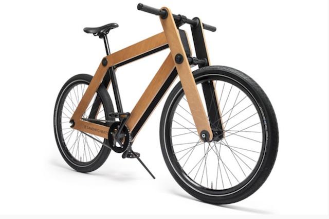 ... な木製の組み立て自転車が登場