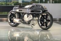 弾丸のように美しいフォルムのカスタム・バイク