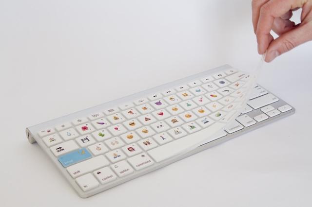 絵文字を打ちまくれる最高のキーボードカバー