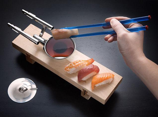 あなたのお口にネタがワープ! スタートレック的、お寿司の食べ方