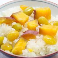 【プロが教える】ホクホク!安納芋とギンナンの炊きおこわの作り方
